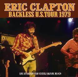 ERIC CLAPTON - BACKLESS U.S. TOUR 1979