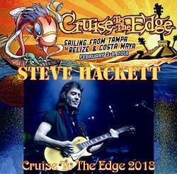 STEVE HACKETT - CRUISE TO THE EDGE 2018