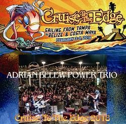 ADRIAN BELEW POWER TRIO - CRUISE TO THE EDGE 2018
