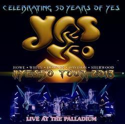 YES - YES 50TH ANNIVERSARY TOUR 2018: LIVE AT THE PALLADIUM