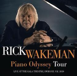RICK WAKEMAN - PIANO ODYSSEY TOUR 2018