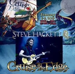 STEVE HACKETT - CRUISE TO THE EDGE 2019