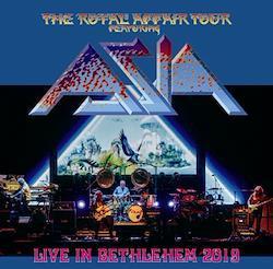 ASIA - LIVE IN BETHLEHEM: THE ROYAL AFFAIR TOUR 2019 (1CDR)