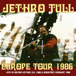 JETHRO TULL - EUROPE TOUR 1986