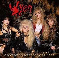 VIXEN - COMPLETE DUSSELDORF 1989 (1CDR+1DVDR)