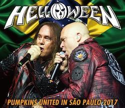 HELLOWEEN - PUMPKINS UNITED IN SAO PAULO 2017 (3CDR)