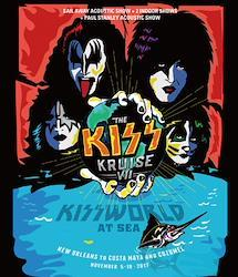 KISS - KISS KRUISE VII: KISSWORLD AT SEA 2017 (2BDR)