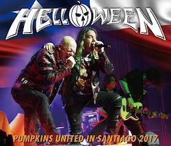 HELLOWEEN - PUMPKINS UNITED IN SANTIAGO 2017 (3CDR+DVDR)
