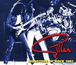 GILLAN - MONSTERS OF ROCK 1982 (2CDR+1DVDR)