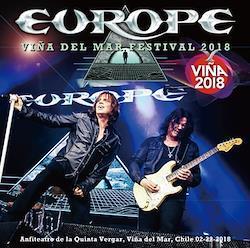 EUROPE - VINA DEL MAR FESTIVAL 2018 (1CDR+1BDR)