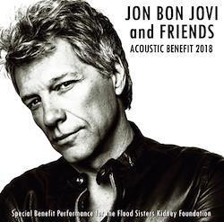 JON BON JOVI - ACOUSTIC BENEFIT 2018 (1CDR+1BDR)