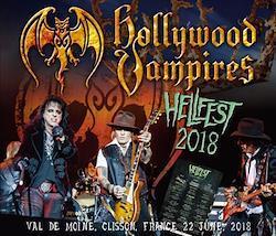 HOLLYWOOD VAMPIRES - HELLFEST 2018 (2CDR+1DVDR)