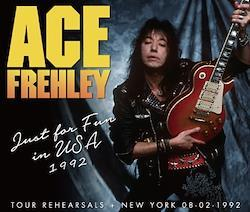 ACE FREHLEY - JUST FOR FUN IN USA 1992