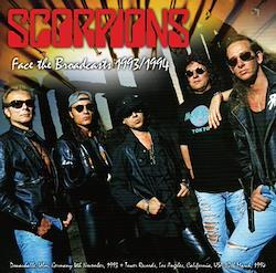 SCORPIONS - FACE THE BROADCASTS 1993/1994