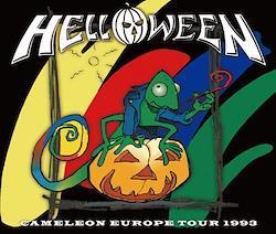 HELLOWEEN - CAMELEON EUROPE TOUR 1993 (2CDR+1DVDR)