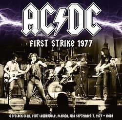 AC/DC - FIRST STRIKE 1977