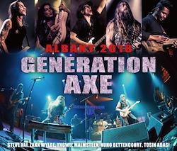 GENERATION AXE - ALBANY 2018 (4CDR)