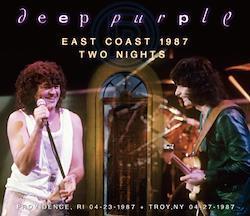 DEEP PURPLE - EAST COAST 1987 TWO NIGHTS (3CDR)