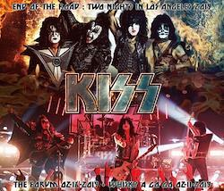 KISS  - TWO NIGHTS IN LOS ANGELES 2019 (3CDR)