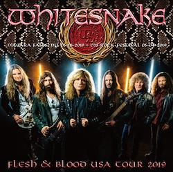 WHITESNAKE - FLESH & BLOOD USA TOUR 2019 (1CDR+1BDR)