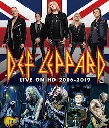 DEF LEPPARD - LIVE ON HD 2006-2019 (1BDR)