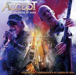 ACCEPT AND THE ORCHESTRA OF DEATH - SYMPHONIC TERROR TOUR IN GERMANY 2019 (2CDR)