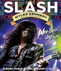 SLASH Featuring MYLES KENNEDY AND THE CONSPIRATORS - MONTREUX JAZZ FESTIVAL 2019 (1BDR)