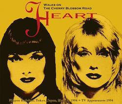 HEART - WALKS ON THE CHERRY BLOSSOM ROAD (2CDR+1DVDR)