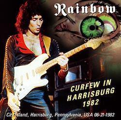 RAINBOW - CURFEW IN HARRISBURG 1982 (1CDR)