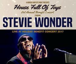 STEVIE WONDER - LIVE AT HOLIDAY BENEFIT CONCERT 2017 (3CDR)