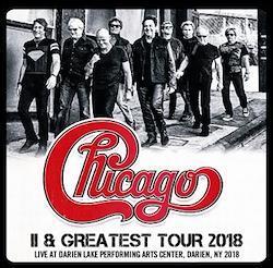 CHICAGO - II & GREATEST TOUR 2018