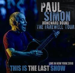 PAUL SIMON - THIS IS THE LAST SHOW