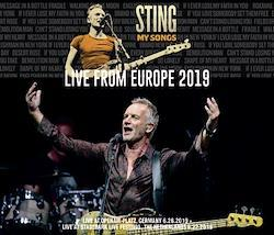 STING - MY SONGS TOUR: LIVE FROM EUROPE 2019 (3CDR)