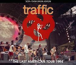 TRAFFIC - THE LAST AMERICAN TOUR 1994 (3CDR+1DVDR)