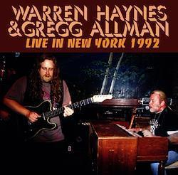 WARREN HAYNES & GREGG ALLMAN - LIVE IN NEW YORK 1992 (2CDR)