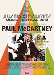 PAUL McCARTNEY - AUSTIN CITY LIMITS 2018 WEEKEND ONE: DVD VERSION (1DVD)