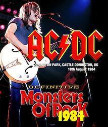 AC/DC - DEFINITIVE MONSTERS OF ROCK 1984 (2CDR+1DVDR)