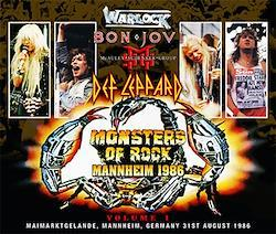VARIOUS ARTISTS - MONSTERS OF ROCK MANNHEIM 1986 VOL.1 (4CDR)