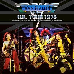 VAN HALEN - U.K. TOUR 1978