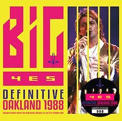 YES - DEFINITIVE OAKLAND 1988