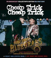 CHEAP TRICK - HARDLY STRICTLY BLUEGRASS 2017 (1BDR)