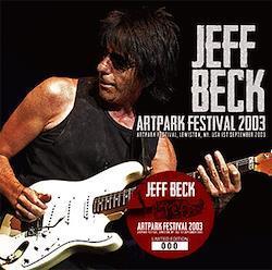 JEFF BECK - ARTPARK FESTIVAL 2003 (1CD)