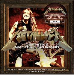 METALLICA - DEFINITIVE MASTER OF CHICAGO (1CD)