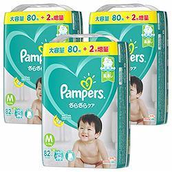 【テープ Mサイズ】パンパース オムツさらさらケア (6~11kg)246枚(82枚×3パック) [ケース品]