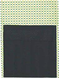 筆巻 ビニール筆巻き ポケットつき 小 28×21 薄緑