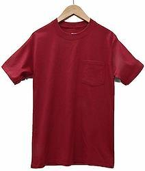 (ヘインズ) HANES BEEFY TEE POCKET ヘインズ メンズ ポケットTシャツ 5190p ビーフィー [並行輸入品] (L. カーディナル)