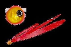 鉛式ビンビン玉スライド ピンクゴールド/レッドゴールドT+   F180