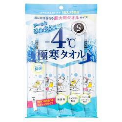 エスカラット 極寒タオル 5枚入 汗拭きシート ボディシート