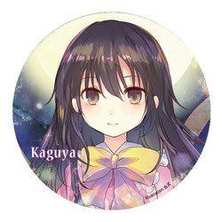 [TOHO PROJECT グッズ]すなめりドリル缶バッジ  輝夜(kazu) -悶KID-