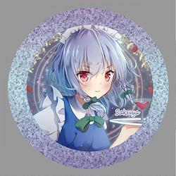 [TOHOPROJECT グッズ]東方project「十六夜 咲夜6」BIG缶バッジ -ぱいそんきっど-